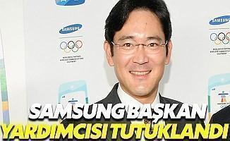 Samsung Başkan Yardımcısı Tutuklandı