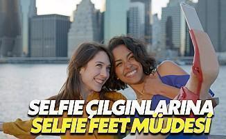 Selfie Feet Çılgınlığı Başlıyor!