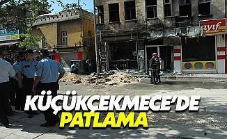 Son Dakika.. Küçükçekmece'de Patlama