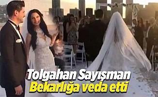Tolgahan Sayışman ile Almeda Abazi Los Angeles'te evlendi