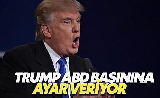 Trump'tan Dev Medya Kuruluşlarına Ambargo