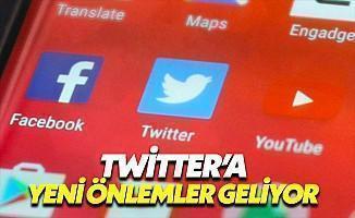 Twitter'dan Sahte Hesaplara Önlem