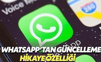 WhatsApp'tan Yeni Güncelleme: Hikaye Özelliği