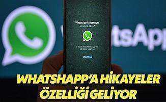 WhatsApp'a Hikâyeler Özelliği Geliyor
