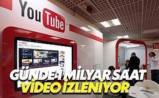Youtube Günde 1 Milyar Saat İzleniyor!