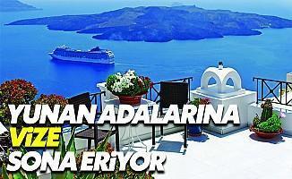 Yunan Adalarına Kapıda Vize Uygulaması Sona Eriyor