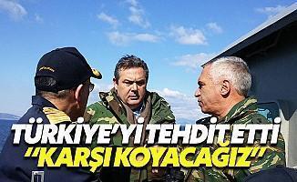 Yunan Savunma Bakanından Tehdit Gibi Açıklama