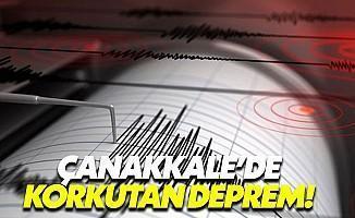 Çanakkale'de Deprem Fırtınası Dinmek Bilmedi!