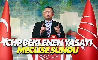 CHP Siyasi Etik Yasasını Meclis'e Sundu