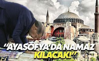 Erdoğan Ayasofya'da Namaz Kılacak İddiası