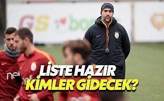 Galatasaray'da Gönderilecek İsimler Belli Oldu