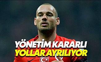 Galatasaray'da Sneijder Defteri Kapanıyor