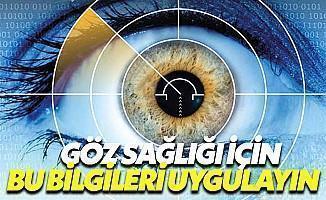 Göz Sağlığını Korumak İçin Pratik Bilgiler