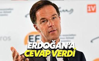 Hollanda Başbakanı Rutte'den Erdoğan'a Cevap