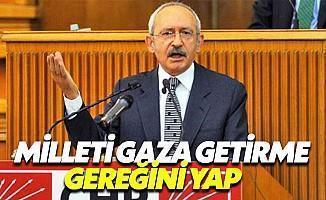 Kılıçdaroğlu: Her Türlü Yaptırımın Uygulanması Lazım
