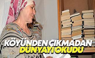 Kitaplarla Mutlu Çiftçi Kadın