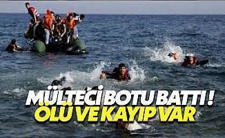 Kuşadası'nda Mülteci Botu Battı: 12 Kişi Öldü