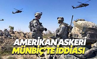 Münbiç'teki YPG'ye ABD Koruması
