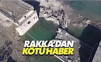 Rakka'da Köprü yıkıldı, Ulaşım Koptu