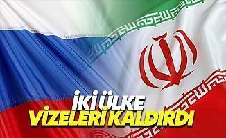 Rusya ve İran Karşılıklı Olarak Vizeleri Kaldırdı