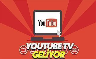 YouTube TV Geliyor