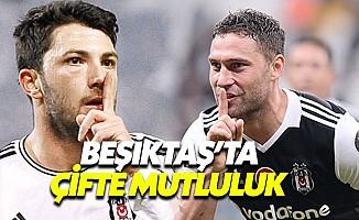 Beşiktaş'ta Tolgay ve Tosic Sevinci