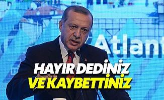 Cumhurbaşkanı Erdoğan'dan Avrupa'ya: Saygı Duyun