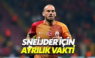 Galatasaray, Sneijder ile Yollarını Ayırıyor