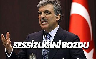 Gül'den AKPM'nin Kararına İlişkin Flaş Açıklama