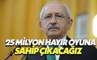 Kemal Kılıçdaroğlu: Referandum Meşruiyetini Kaybetmiştir