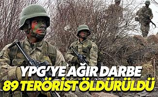 TSK Bilançoyu Açıkladı: 89 YPG'li Etkisiz Hale Getirildi