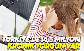 Türkiye'nin Yüzde 18'i Kronik Yorgun