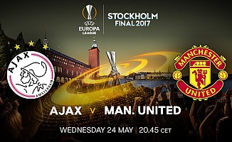 Ajax Manchester United 0-2 Geniş Maç Özeti UEFA Avrupa Ligi Finali