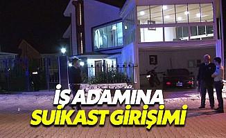 Ankara'da İş adamının evinde çatışma