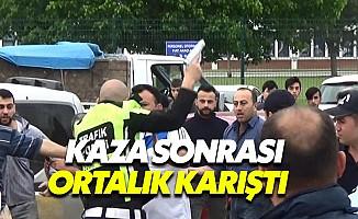 Bursa'da hafriyat kamyonunun karıştığı kazada 1 kişi öldü
