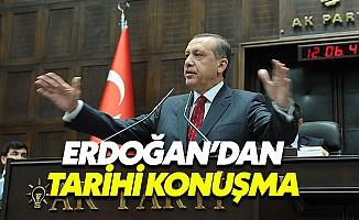 Cumhurbaşkanı Erdoğan, AK Parti Grubu'nda konuştu