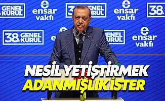 """Cumhurbaşkanı: """"Milletine yabancı zihinlerden üzüntü duyuyorum"""""""