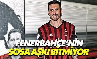 Fenerbahçe'nin Jose Sosa aşkı bitmiyor