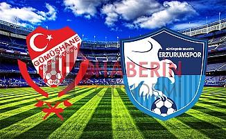 Gümüşhanespor  Erzurumspor 0-1 Play Off Geniş Maç Özeti