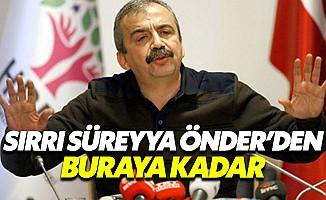 HDP'li Sırrı Süreyya Önder siyaseti bırakıyor