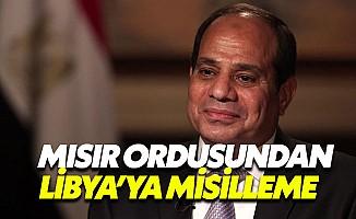 Mısır'dan Libya'ya misilleme saldırısı