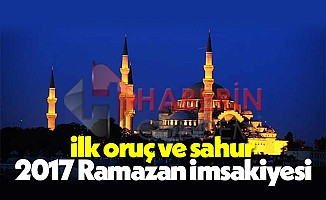 Ramazan oruç ayı ne zaman hangi gün | İlk iftar ve sahur saat kaçta
