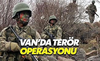 Van'da terör operasyonu: 3 terörist öldürüldü