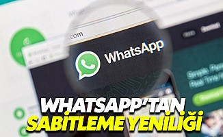 WhatsApp sohbet sabitleme özelliğini herkese açtı