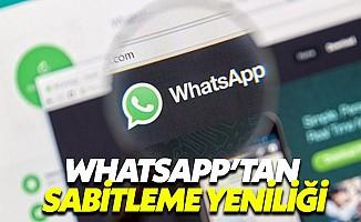 WhatsApp sohbet sabitleme özelliğini herkese açtı