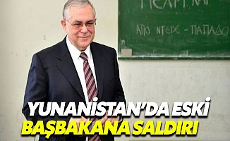 Yunan başbakanına bombalı saldırı