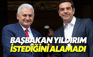 Başbakan Binali Yıldırım'ın Atina mesajları