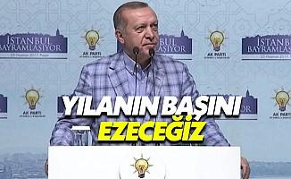 Cumhurbaşkanı Erdoğan, partililerle bayramlaştı