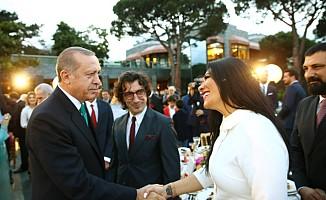 Erhan Güleryüz Cumhurbaşkanı Erdoğan'ın iftarında