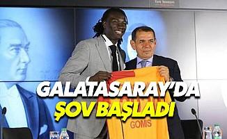 Gomis ve Belhanda Galatasaray'da
